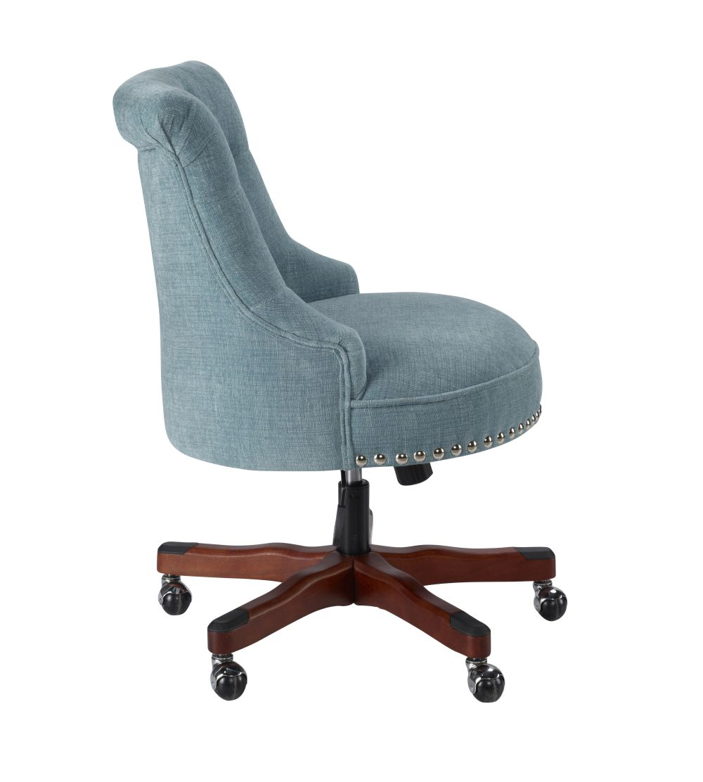 Sinclair Office Chair Aqua Alt3