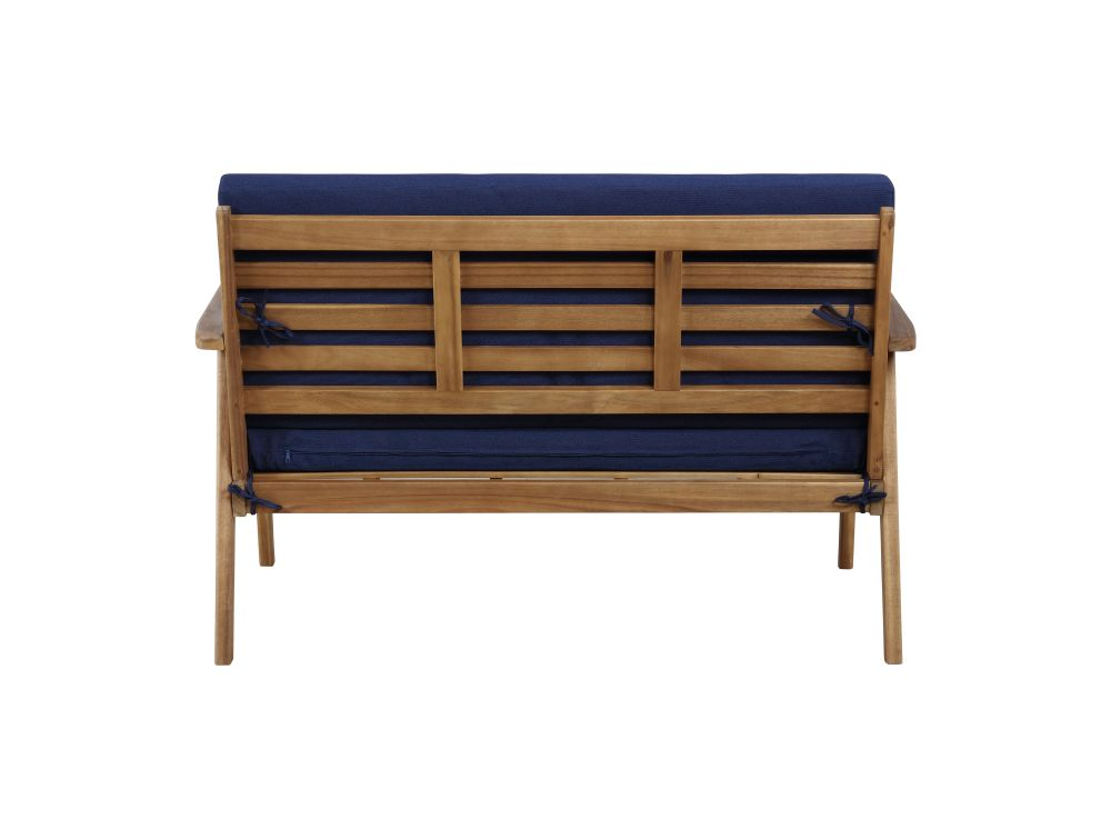 Cosgrove Outdoor Chat Set Blue Alt3