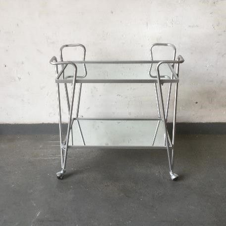 Ellie Silver Bar Cart Alt1